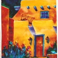 into-a-courtyard-in-taos